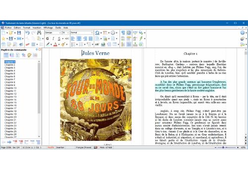 Capture d'écran Traitement de texte Atlantis Version Light 3.2.12.1