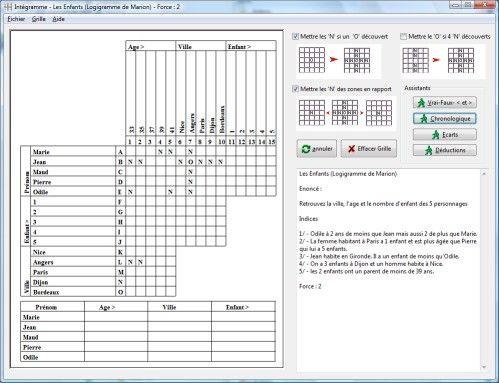 Capture d'écran Intégramme