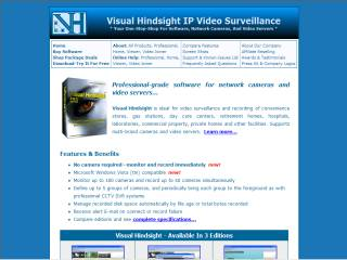 Capture d'écran Visual Hindsight Viewer Edition
