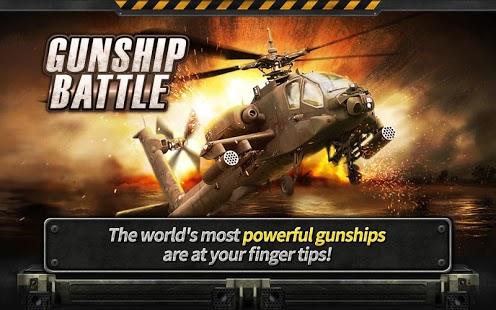 Capture d'écran GUNSHIP BATTLE : Helicopter 3D