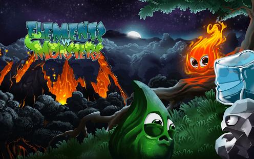 Capture d'écran Elements vs. Monsters