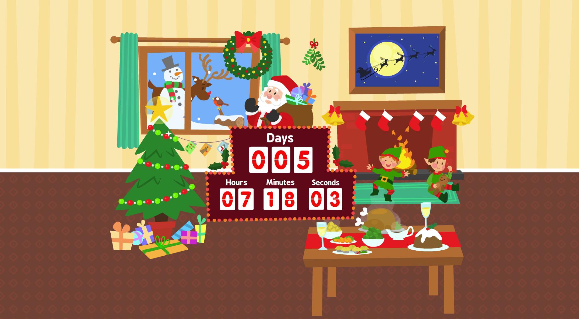 Capture d'écran Christmas Countdown Screensaver