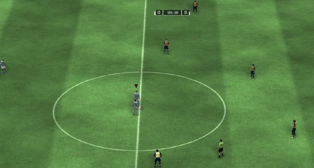 Capture d'écran FIFA 09