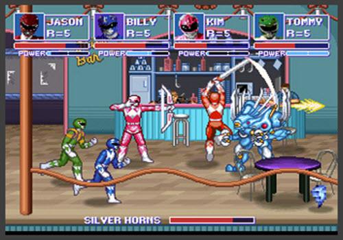 Capture d'écran Power Rangers : Beats of Power