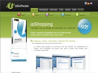 Capture d'écran IziShopping