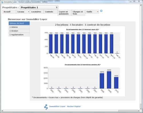 Capture d'écran Immobilier Loyer Gestion Locative Version Illimitée