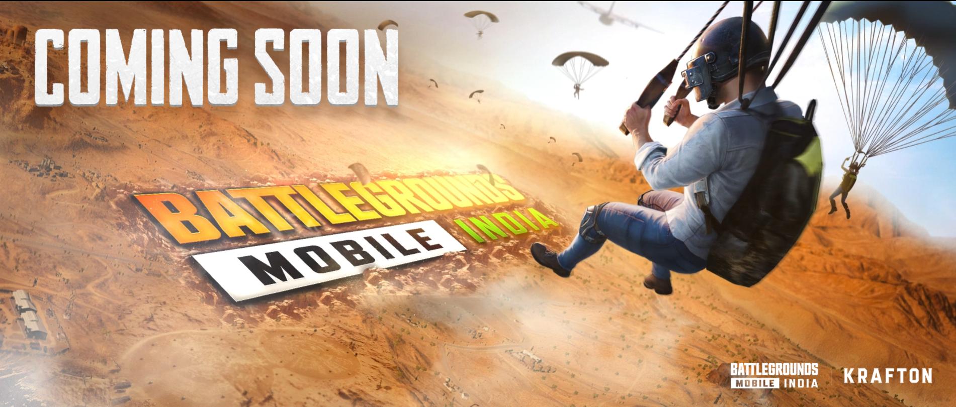 Capture d'écran Battlegrounds Mobile India