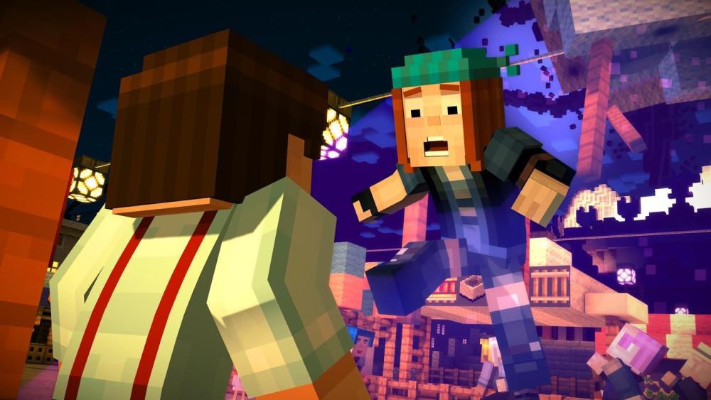 Capture d'écran Minecraft Story Mode Android