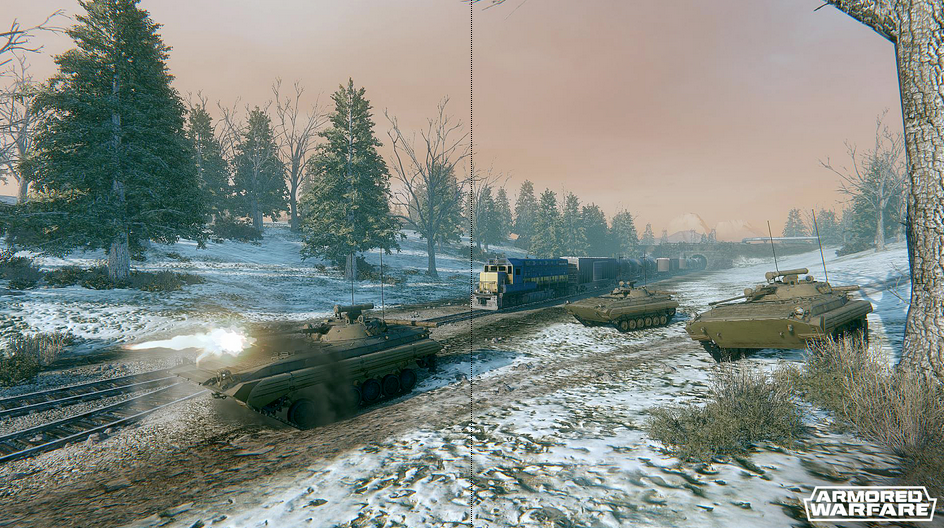Capture d'écran Armored Warfare