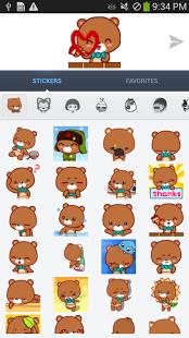 Capture d'écran Animated Emoticons