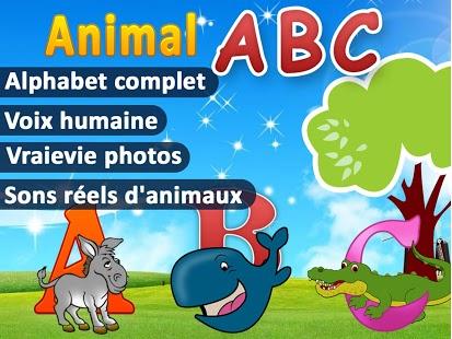 Capture d'écran ABCdaire Sons Animaux Enfants
