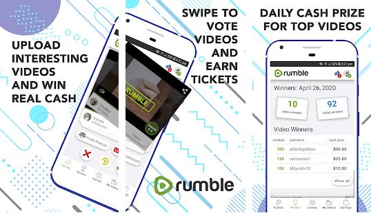 Capture d'écran Rumble Android