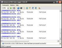 Capture d'écran Advanced PBX Data Logger
