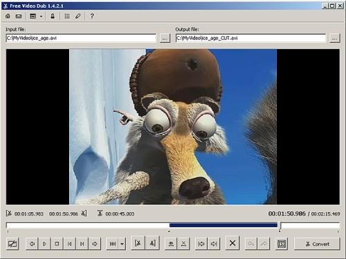Capture d'écran Free Video Dub