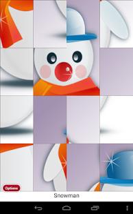 Capture d'écran Jeu Enfants Puzzle de Noël