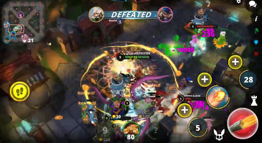 Capture d'écran Awakening of Heroes Android