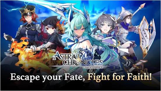 Capture d'écran Astral Chronicles Android