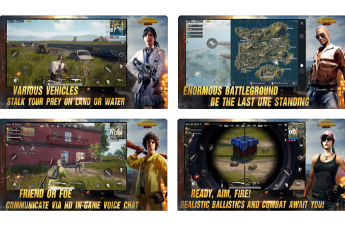 Capture d'écran PlayerUnknown's Battlegrounds (PUBG Mobile) Android