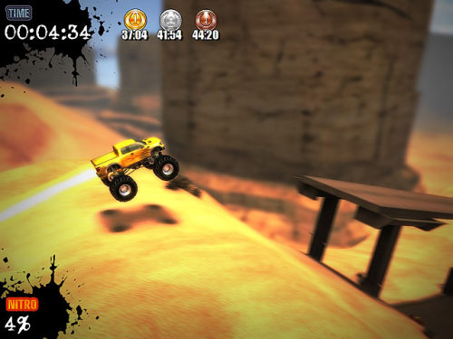 Capture d'écran Ultra Monster Truck Trial