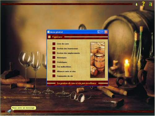 Capture d'écran Vignicave