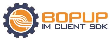 Capture d'écran Bopup IM Client SDK