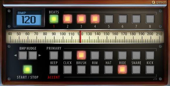 Capture d'écran Metronome
