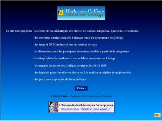 Capture d'écran Fractions Au Collège
