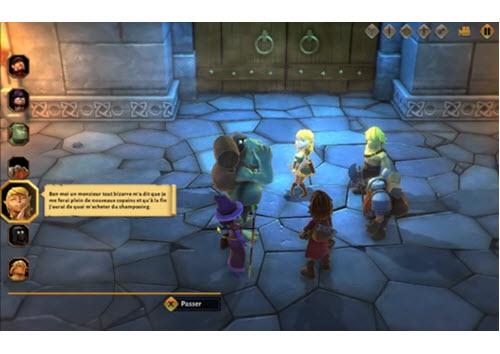 Capture d'écran L'Amulette du Désordre (le Donjon de Naheulbeuk)