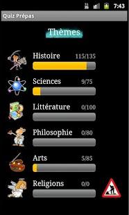 Capture d'écran Quiz Prépas