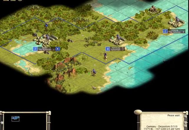 Capture d'écran Civilization 3