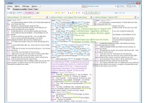 Capture d'écran BIBLATI (version 1.11)