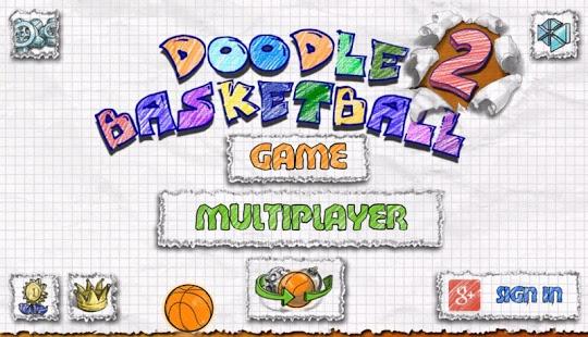 Capture d'écran Doodle Basketball 2