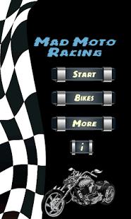 Capture d'écran Course Folle De Moto 2014