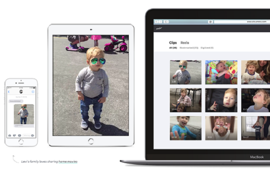 Capture d'écran Air – Le nouveau caméscope familial