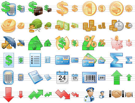 Capture d'écran Accounting Toolbar Icons