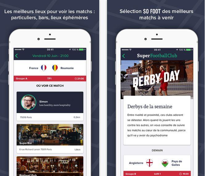 Capture d'écran Super Football Club Android