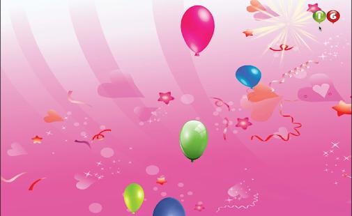 Capture d'écran Balloon Popping For Babies