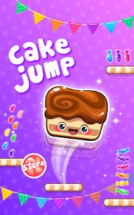 Capture d'écran Cake Jump