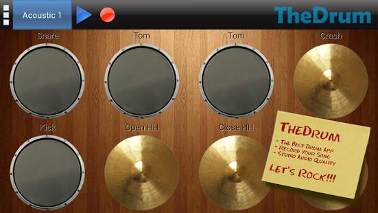 Capture d'écran The Drum – Batterie