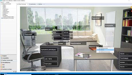 Capture d'écran Memsoft Gestion Commerciale Oxygène 10 GRATUITE