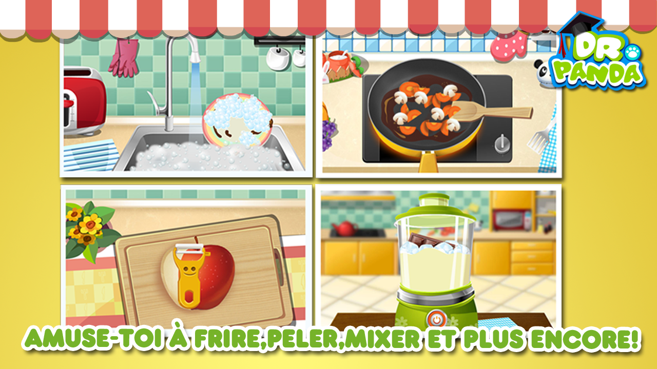Capture d'écran Dr. Panda : Restaurant Android