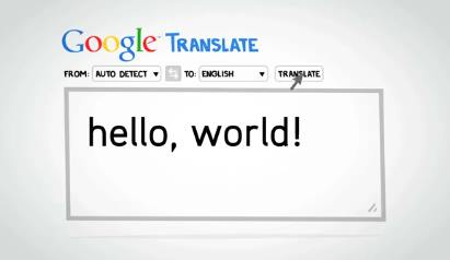Capture d'écran Google Traduction