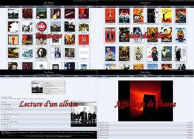 Capture d'écran Crae Multimédia WebSystem