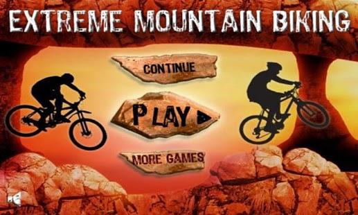 Capture d'écran Mountain Biking – Racing Game