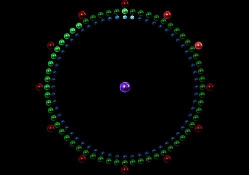 Capture d'écran Metallic Clock