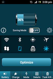 Capture d'écran Super Battery Saver