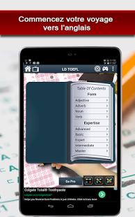 Capture d'écran TOEFL – iBT pratique libre