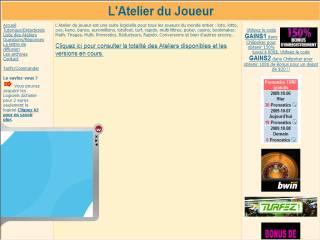 Capture d'écran Atelier MULTI
