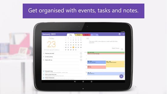 Capture d'écran Planner – Events,Tasks