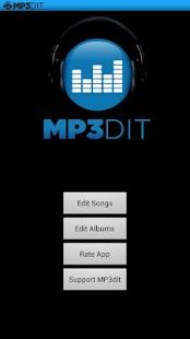 Capture d'écran MP3dit